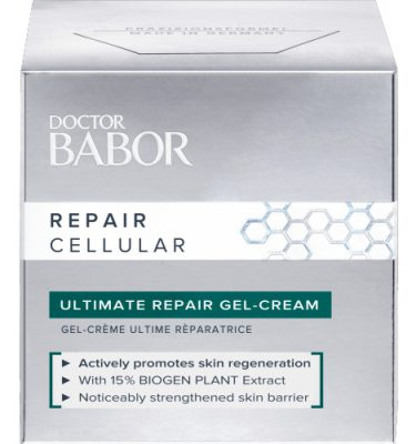 BABOR Repair Cellular Ultimate Repair Gel-Cream de huid wordt gestimuleerd!